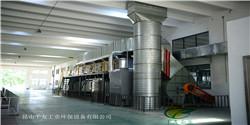 印刷厂废气:催化燃烧