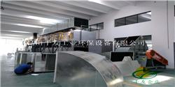 千友工业90000m³/H印刷废气活性炭浓缩+催化燃烧设备安装的最新进展
