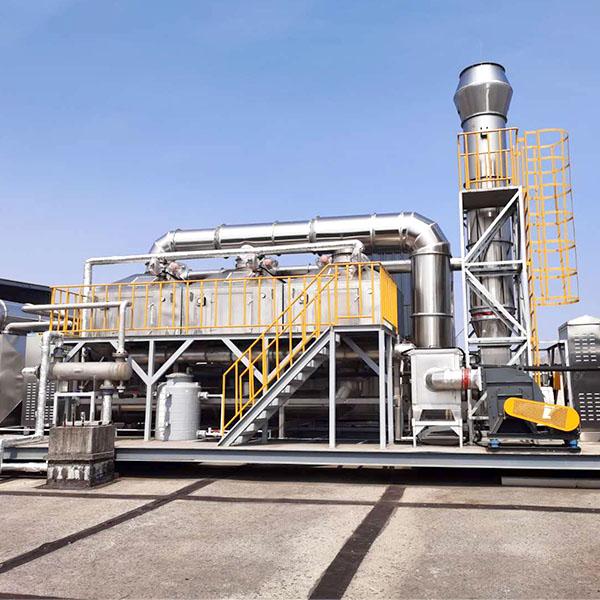 医药废气处理:干式过滤+活性碳吸附+蒸汽脱附+冷凝回收