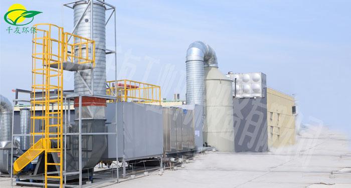 活性炭吸附箱组合工艺