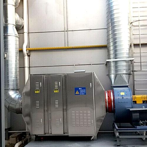 食品废气-光氧催化+油烟净化设备