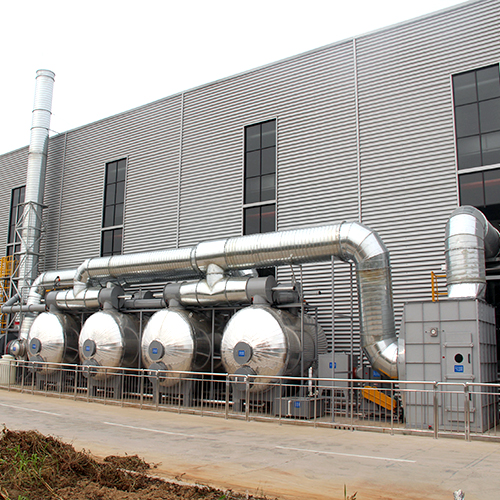 印刷废气:活性炭吸附+蒸汽脱附+冷凝回收